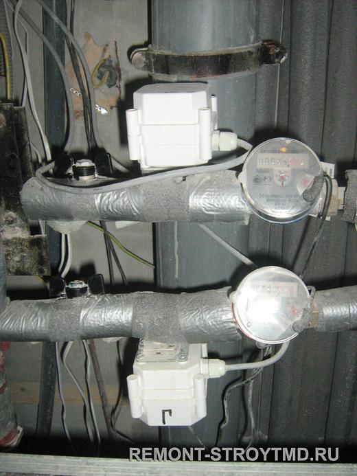 Автоматическая система остановки воды