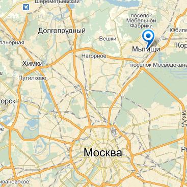 Наше местоположение на карте